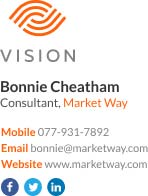 Corporate Email Signature for consultant