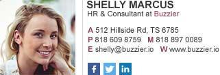 HR & consultant email signature