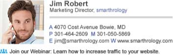 marketing director email signature