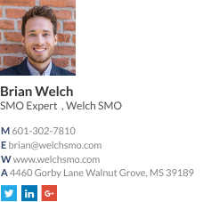 wisestamp email signature with a gif for SMO expert